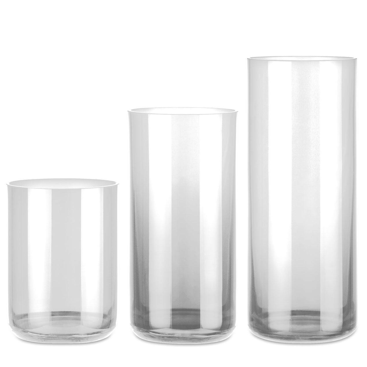 Ewiglicht-Gläser gerade transparent